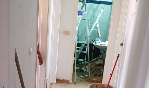 Obras no apartamento